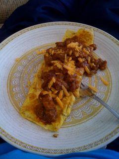 Chili omlet