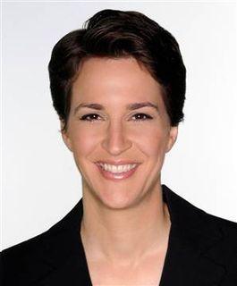 Rachel Maddow on MSNBC